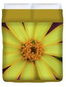 Yellow Zinn Duvet Cover