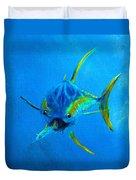 Yellowfin Tuna Three Duvet Cover