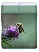 Yellowhead Bumblebee Two Duvet Cover