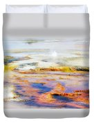 Yellowstone Abstract II Duvet Cover