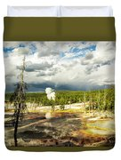 Yellowstone Colors #3 Duvet Cover