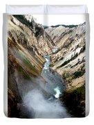 Yellowstone Fall Duvet Cover