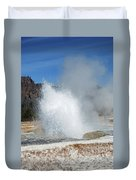 Yellowstone Features  Duvet Cover