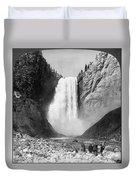 Yellowstone: Grand Falls Duvet Cover
