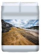 Yellowstone Hot Springs Duvet Cover