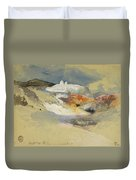 Yellowstone, Hot Springs, July 21, 1892 Duvet Cover