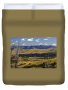 Yellowstone Landscape 2 Duvet Cover