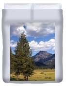 Yellowstone Landscape Duvet Cover