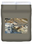 Yellowstone Mineral Features 3 Duvet Cover