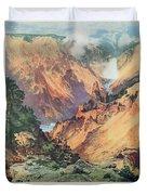 Yellowstone Park Duvet Cover
