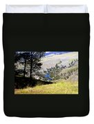 Yellowstone River Vista Duvet Cover