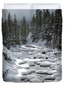 Yellowstone -  Soda Butte Creek Duvet Cover