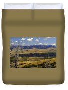 Yellowstone Vista Duvet Cover