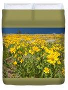 Yellowstone Wildflower Duvet Cover