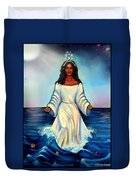 Yemaya- Mother Of All Orishas Duvet Cover