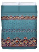 Yeni Mosque Prayer Carpet  Duvet Cover
