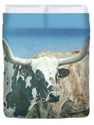 Yes, This Is Texas Duvet Cover