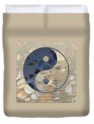 Yin Yang Harmony Duvet Cover