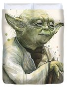 Yoda Portrait Duvet Cover