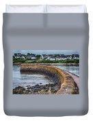 York Breakwater Barry Island Duvet Cover