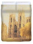 York Minster Duvet Cover