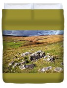 Yorkshire Dales Limestone Countryside Duvet Cover
