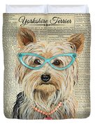 Yorkshire Terrier-jp3856 Duvet Cover