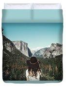 Yosemite Awe Duvet Cover