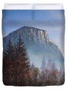 Yosemite Dawn Detail Duvet Cover