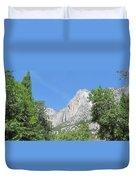 Yosemite Falls Again Duvet Cover