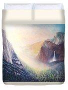 Yosemite Morning Duvet Cover
