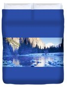 Yosemite National Park, California Duvet Cover