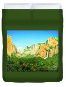 Yosemite National Park Duvet Cover by Jerome Stumphauzer