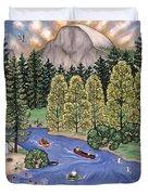 Yosemite National Park Duvet Cover