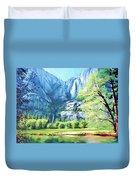 Yosemite Park Duvet Cover