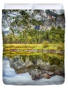 Yosemite Reflections Right Duvet Cover