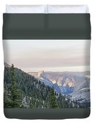 Yosemite Sunrise Duvet Cover