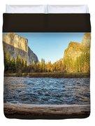 Yosemite Sunset Duvet Cover