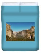 Yosemite Valley Duvet Cover