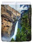 Yosemite Waterfall Duvet Cover