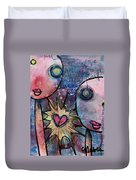 You Are Always In My Heart  Duvet Cover