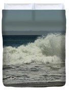 You Came Crashing Into Me Duvet Cover by Laurie Search