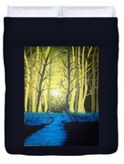 You Cant See The Forest For The Trees Duvet Cover