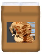 You Chicken Two Duvet Cover