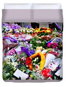 You Never Be Forgotten  Duvet Cover