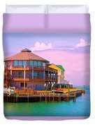 You Should See The Sunset Duvet Cover