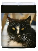 You Talkin To Me? Duvet Cover