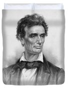 Young Abe Lincoln Duvet Cover
