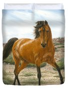 Young And Restless Duvet Cover