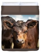 Young Angus Duvet Cover